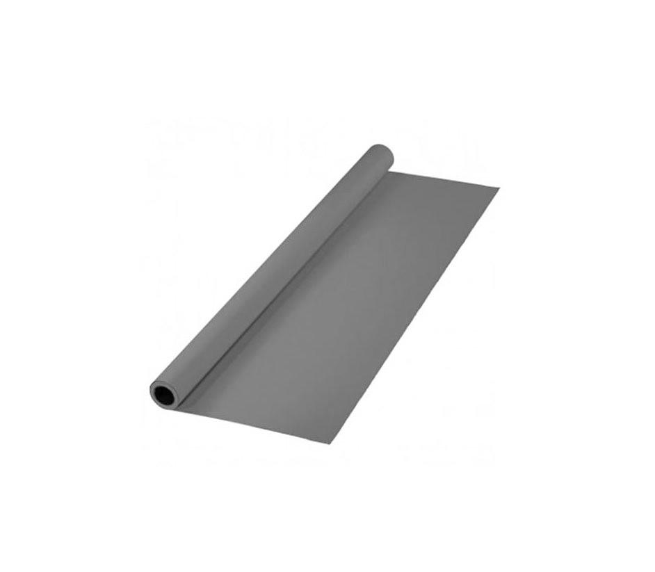 پرده خاکستری 2x3 لوله پلاستیکی (فون مخمل)