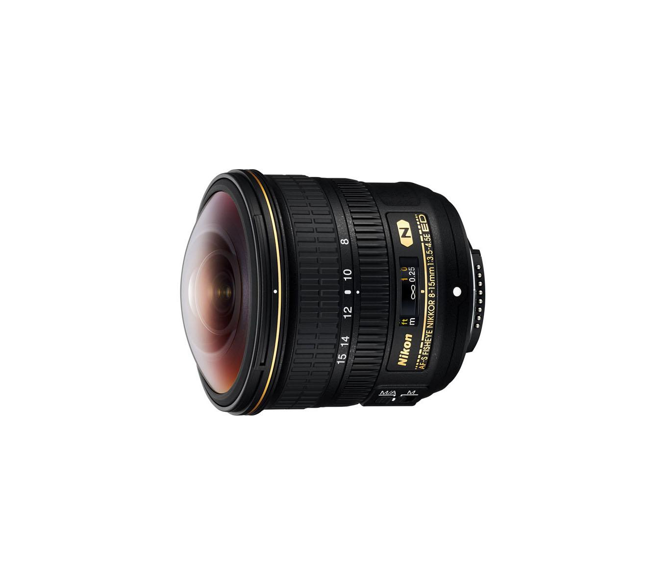 لنز Nikon AF-S 8-15mm f/3.5-4.5 E ED Fisheye