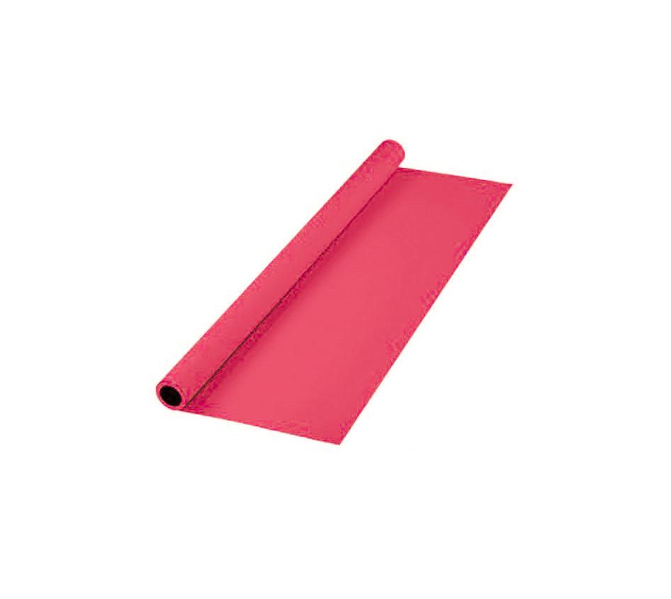 پرده قرمز پارچهای 3x5 لوله پلاستیکی