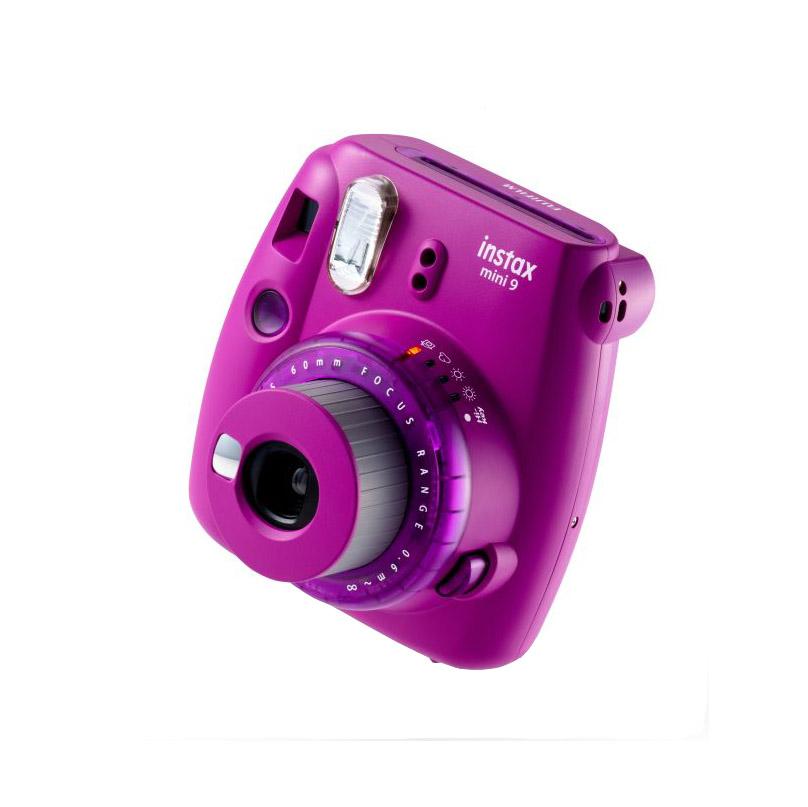 دوربین چاپ سریع فوجی فیلم مدل Instax Mini 9 سری Limited Edition (بنفش)