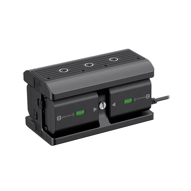 کیت مولتی شارژ باتری سونی مدل NPA-MQZ1K (+ دو عدد باتری اصلی)