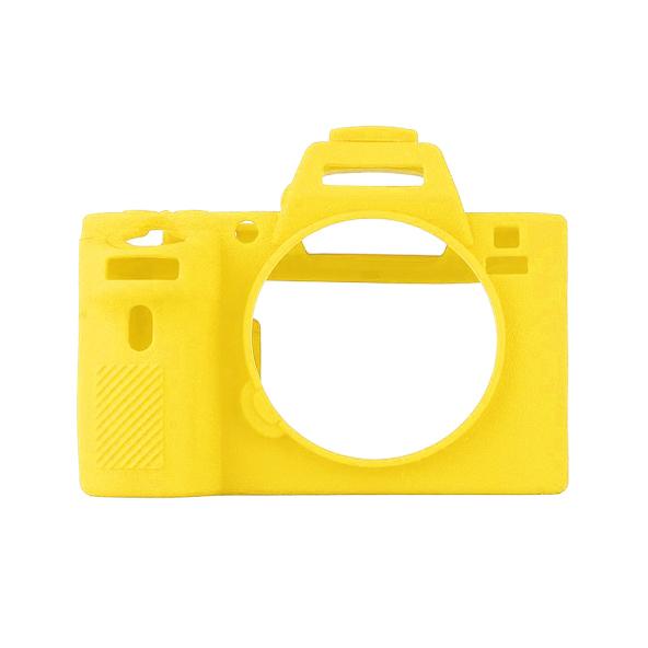 کاور سیلیکونی دوربین سونی Alpha a7R IV (زرد)