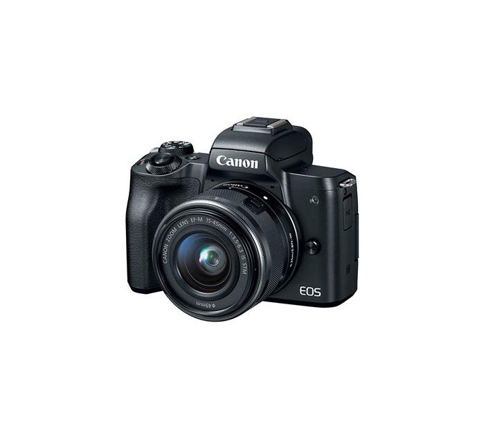دوربین بدون آینه کانن EOS M50 + 15-45mm