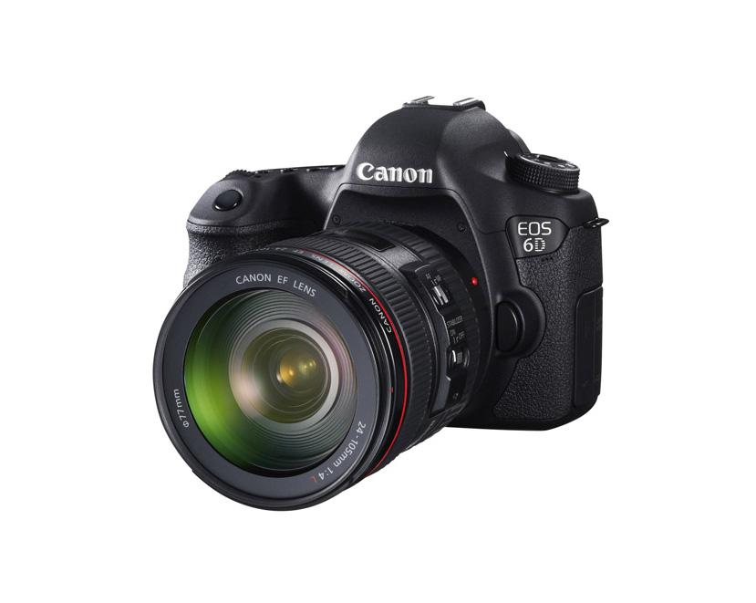 دوربین کانن EOS 6D + 24-105mm f/4 L (دست دوم)