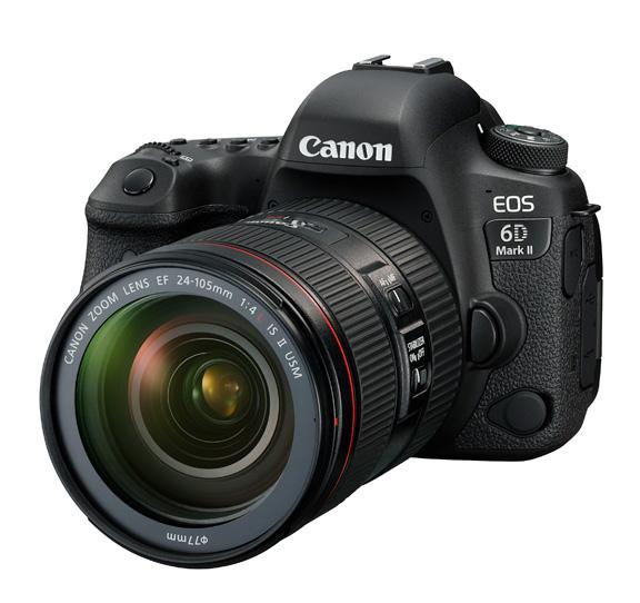 دوربین کانن EOS 6D Mark II + 24-105mm f/4 L IS II