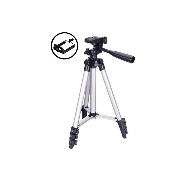 سه پایه نگهدارنده دوربین مدل 3110 (+هولدر موبایل)