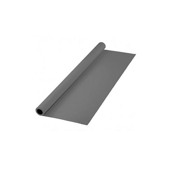 پرده خاکستری سایز 3x5 لوله پلاستیکی (فون شطرنجی)