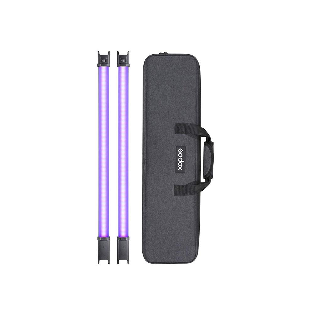 نور باتومی RGB گودکس Godox Tube Light TL60 (کیت دوتایی)