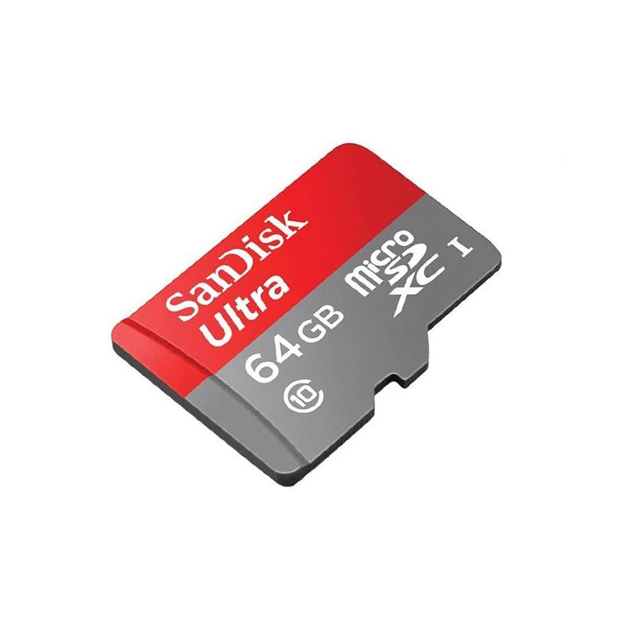 کارت حافظه micro SD 64GB سن دیسک مدل Ultra سری A1 سرعت 120MB/s