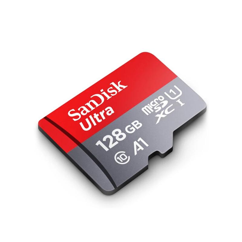 کارت حافظه micro SD 128GB سن دیسک مدل Ultra سری A1 سرعت 120MB/s