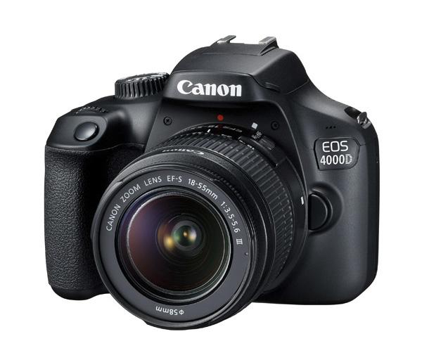 دوربین کانن EOS 4000D + 18-55mm III