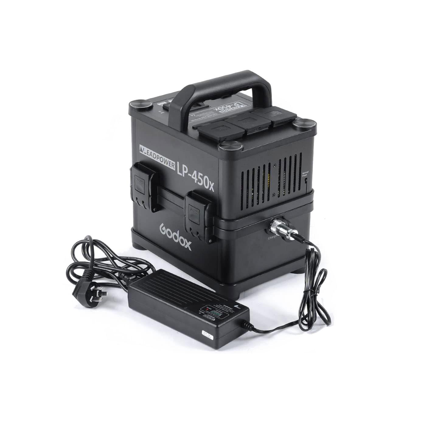 باتری فلاش پرتابل مدل Godox LEADPOWER LP-450X
