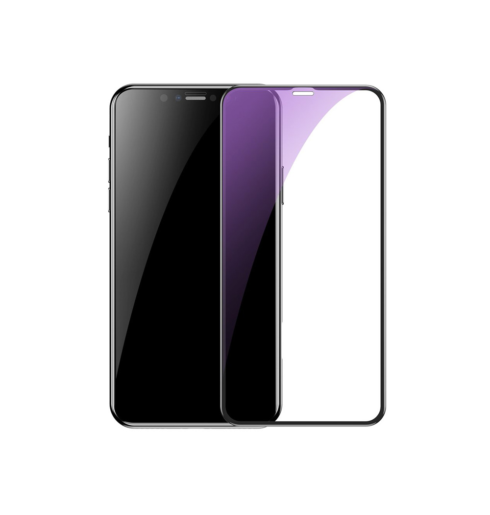 محافظ صفحه نمایش باسئوس مدل SGAPIPH65S-KD01 مناسب برای گوشی موبایل اپل iPhone XS Max/11 Pro Max (بسته دو عددی)