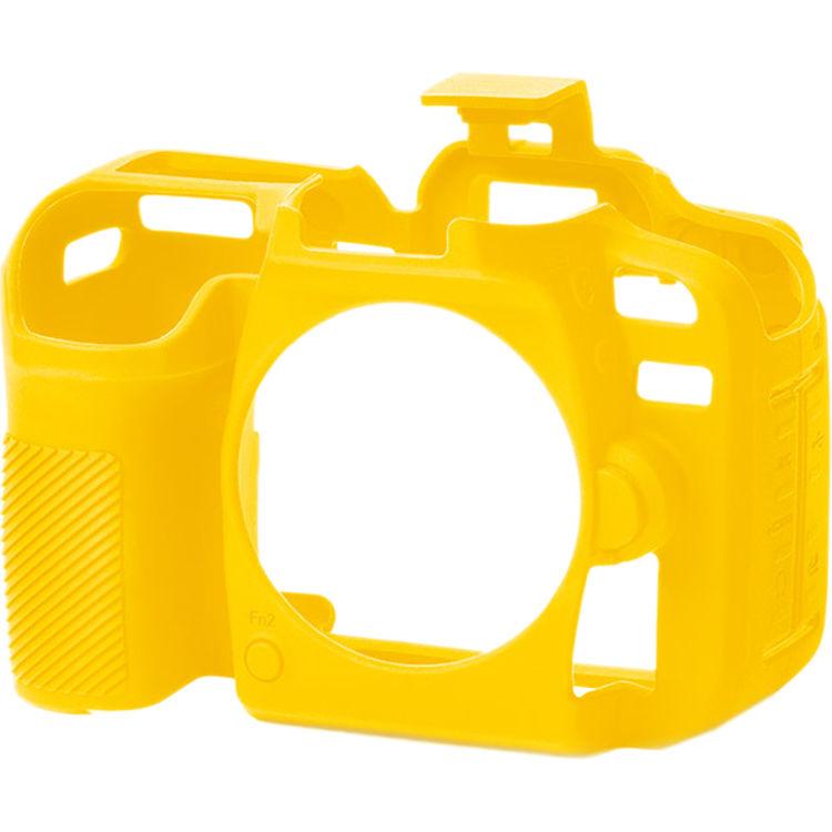 کاور سیلیکونی دوربین  Nikon D7500 (زرد)