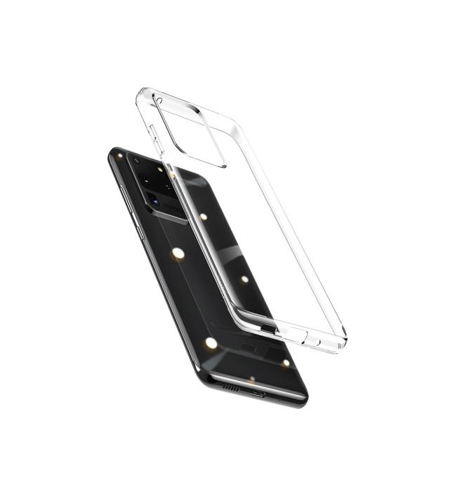 قاب ژله ای شفاف مدل باسئوس ARSAS20U-02 برای گوشی سامسونگ Galaxy S20 Ultra