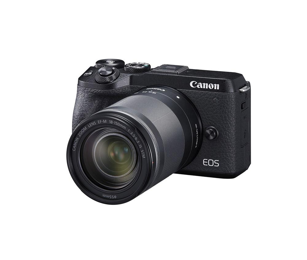 دوربین کانن EOS M6 Mark II + EF-M 18-150mm