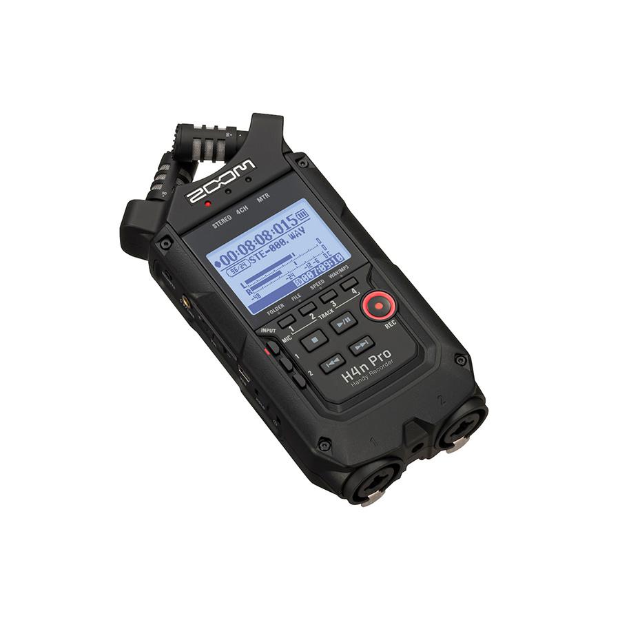 ضبط کننده حرفه ای صدا زوم مدل H4N-Pro سری Black