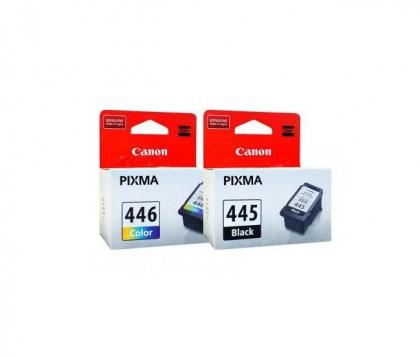 ست کارتریج جوهر افشان کانن رنگی و مشکی  Cartridge PIXMA CL-445/446