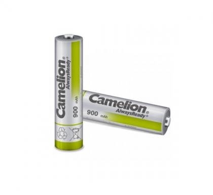 باتری نیم قلمی قابل شارژ کملیون 900mAh مدل Always Ready بسته 2 عددی