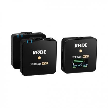 میکروفن یقهای بیسیم Rode Wireless GO II