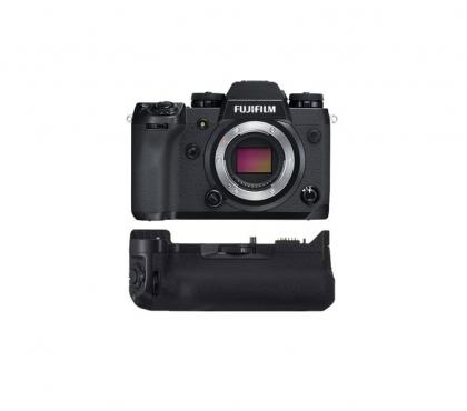 بدنه دوربین بدون آینه FUJIFILM X-H1 به همراه گریپ باتری