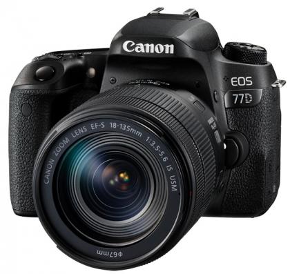 دوربین کانن EOS 77D + 18-135mm IS USM