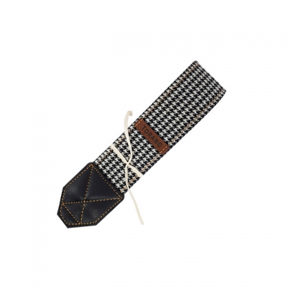 بند دوربین ترنگ طرح سیاه و سفید کد T291