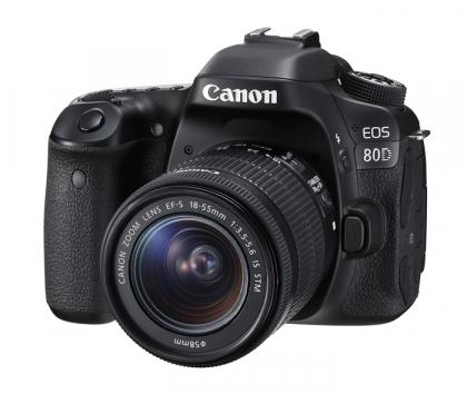 دوربین کانن EOS 80D + 18-55mm IS STM