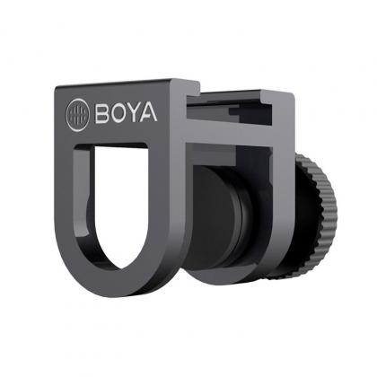 گیره اتصال میکروفون به موبایل BOYA BY-C12