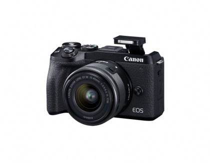 دوربین کانن EOS M6 Mark II + EF-M 15-45mm