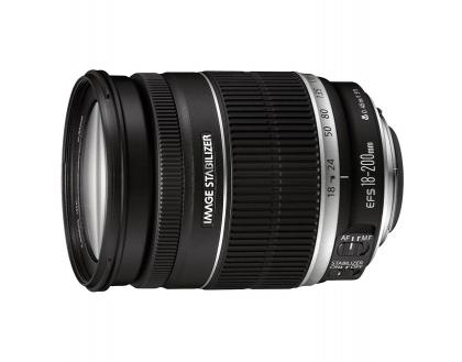 لنز Canon EF-S 18-200mm f/3.5-5.6 IS