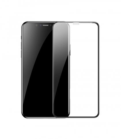 محافظ صفحه نمایش باسئوس مدل SGAPIPH58S-HA01 مناسب برای گوشی موبایل اپل iPhone X/XS/11 PRO (بسته دو عددی)