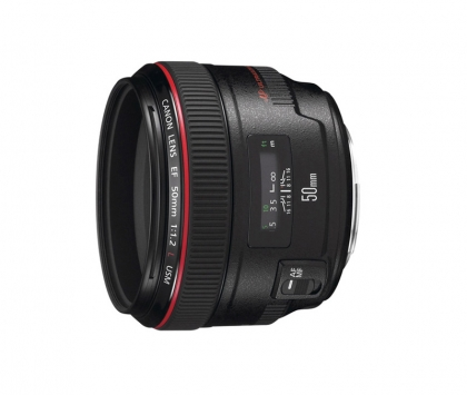 لنز Canon EF 50mm f/1.2 L USM