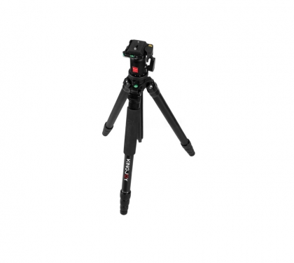 سه پایه دوربین کینگ جوی مدل VT-T2008R با هد QB1