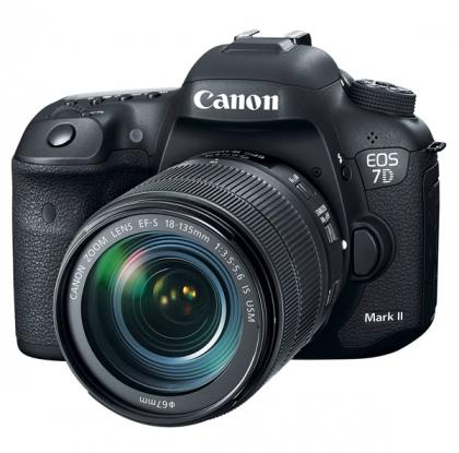 دوربین کانن EOS 7D Mark II + 18-135mm USM