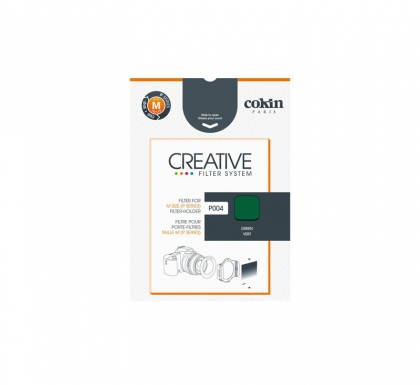 Cokin P004 Green Resin Filter for Black & White Film