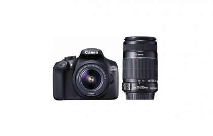 دوربین کانن EOS 1300D با دو لنز 55-18 و 250-55
