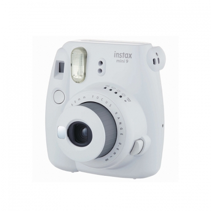 دوربین عکاسی چاپ سریع فوجی Instax Mini 9 (سفید دودی)
