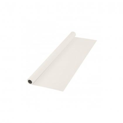 پرده سفید سایز 3x5 لوله پلاستیکی (فون شطرنجی)