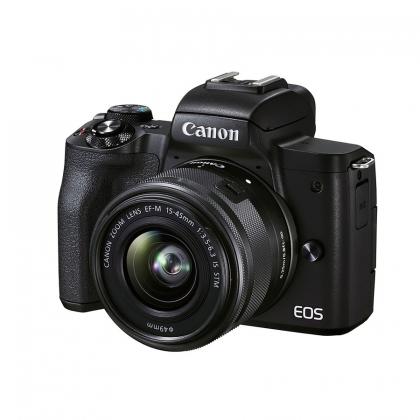 دوربین بدون آینه کانن EOS M50 Mark II + 15-45mm