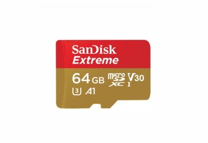 کارت حافظه Micro SD 64GB سن دیسک مدل Extreme 100MB/s