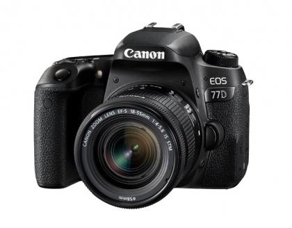 دوربین کانن EOS 77D + 18-55mm IS STM