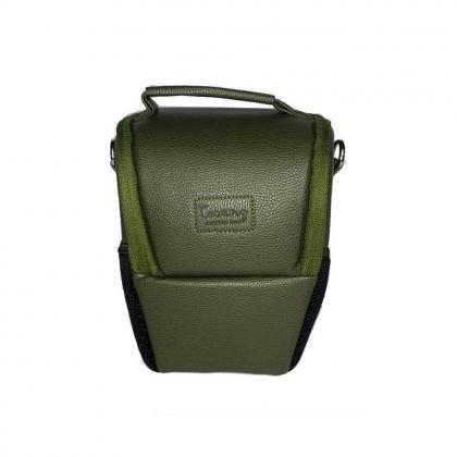کیف دوربین عکاسی پوزه ای ترنگ سایز S سبز یشمی