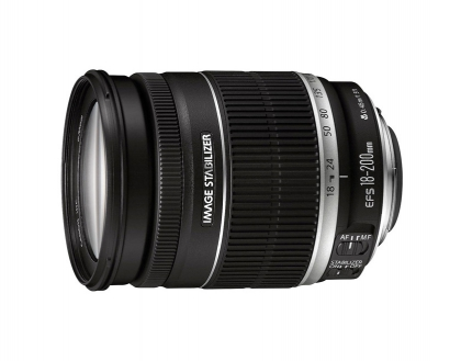 Canon EF-S 18-200mm f/3.5-5.6 IS (دست دوم)