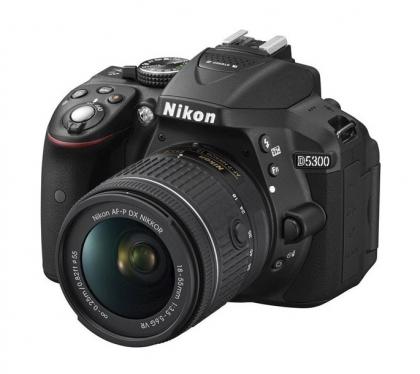 دوربین نیکون D5300 +18-55mm VR (دست دوم)