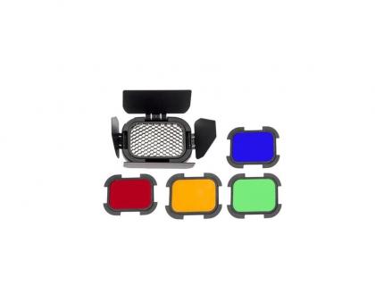شیدر و فیلتر رنگی برای فلاش AD-200 گودوکس مدل BD-07