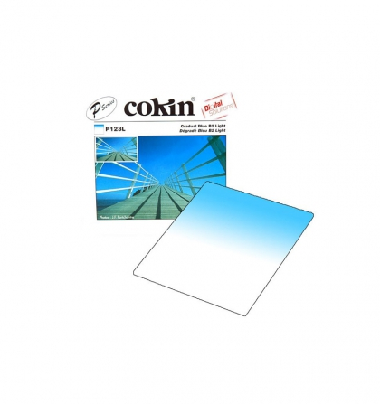 فیلتر لنز کوکین مدل Cokin Gradual BLUE B2 LIGHT P123L Lens Filter
