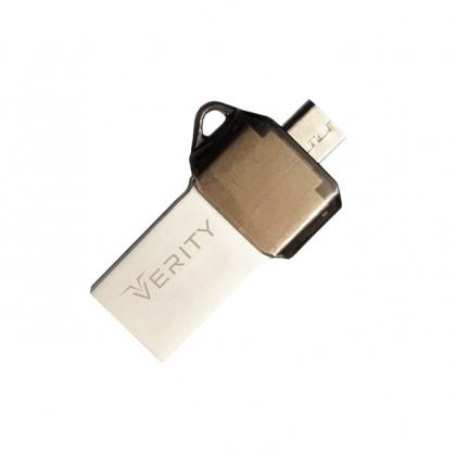 فلش مموری 32GB وریتی مدل VERITY O509 OTG