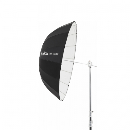چتر پارابولیک 105 سانت داخل سفید مدل  Godox UB-105W