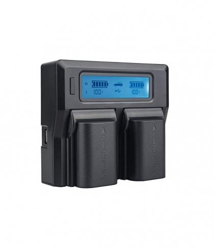 شارژر دوتایی برای باتری کانن LP-E6